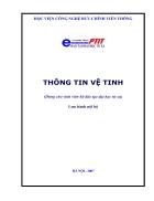 Sách hướng dẫn môn Thông tin vệ tinh