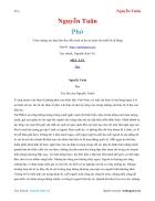 Ebook Phở Nguyễn Tuân