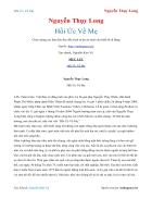 Ebook Hồi Ức Về Mẹ Nguyễn Thụy Long