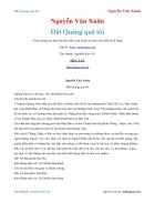 Ebook Đất Quảng quê tôi Nguyễn Văn Xuân