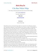 Ebook Cầu Bao Nhiêu Nhịp Bích Huyền