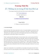Ebook Những ưu tư trong lễ hội hoa Đà Lạt Trương Thái Du