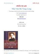 Ebook Nhà Văn Bà Tùng Long nhiều tác giả