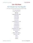 Ebook Kể Chuyện Các Vua Nguyễn Tôn Thất Bình