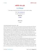 Ebook Lê Hoàn nhà Tiền Lê
