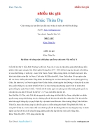 Ebook Khúc Thừa Dụ giành tự chủ cho đất nước