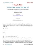 Ebook Chuyện đời thường của Bác Hồ Nguyễn Đình