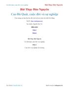 Ebook Cao Bá Quát cuộc đời và sự nghiệp Bùi Thụy Đào Nguyên