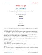 Ebook Lê Văn Hưu nhiều tác giả