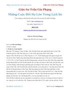 Ebook Những Cuộc Đổi Họ Lớn Trong Lịch Sử Giáo Sư Trần Gia Phụng