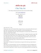 Ebook Chu Văn An nhiều tác giả