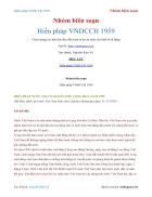 Ebook Hiến pháp Việt NamDCCH 1959 Nhóm biên soạn