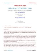 Ebook Hiến pháp CHXHCNVN 1980 Nhóm biên soạn