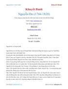 Ebook Nguyễn Du nhiều tác giả 1