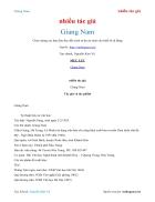 Ebook Giang Nam nhiều tác giả