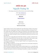Ebook Nguyễn Trường Tộ nhiều tác giả