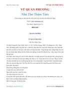 Ebook Nhà Thơ Thâm Tâm VŨ QUẦN PHƯƠNG