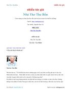 Ebook Nhà Thơ Thu Bồn nhiều tác giả