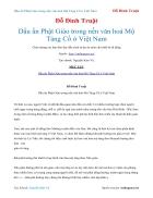 Ebook Dấu ấn Phật Giáo trong nền văn hoá Mộ Táng Cổ ở Việt Nam Đỗ Đình Truật