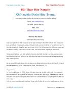 Ebook Khởi nghĩa Đoàn Hữu Trưng Bùi Thụy Đào Nguyên