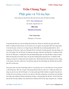 Ebook Phật giáo và Vũ trụ học Trần Chung Ngọc