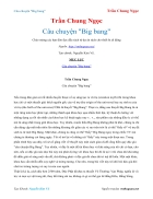Ebook Câu chuyện Big bang Trần Chung Ngọc