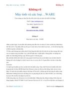 Ebook Máy tính và các loại WARE