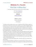 Ebook Tôn Giáo và Khoa Học Bhikkhu P A Payutto