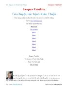 Ebook Trò chuyện với Trịnh Xuân Thuận Jacques Vauthier