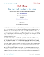 Ebook Khi máy tính của bạn bị tấn công Minh Chung