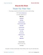Ebook Thanh Tẩy Thân Tâm Huỳnh Bá Hinh