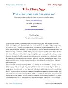 Ebook Phật giáo trong thời đại khoa học Trần Chung Ngọc