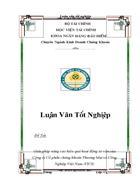 Giải pháp nâng cao hiệu quả hoạt động tư vấn của Công ty Cổ phần chứng khoán Thương Mại và Công Nghiệp Việt Nam VICS