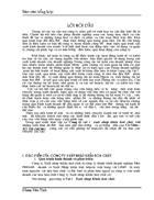 Báo cáo về công tyVật tư Xuất nhập Khẩu hoá chất.