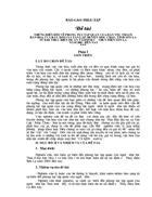 Những biến đổi về phong tục tập quán của dân tộc Thái ở bản hoa i và bản Dọi i xã Tân Lập, huyện Mộc Châu, tỉnh Sơn La từ khi thực hiện dự án tái định cư thủy điện Sơn La năm 2003 đến nay