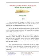Thiet Ke Cung Cap Dien Cho Xuong May Thuan Tien