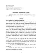Biện chứng các vấn đề về dân tộc và giai cấp trong tư tưởng Hồ Chí Minh.
