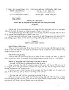 Các văn bản pháp luật về tư pháp quốc tế