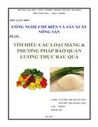 Tìm hiểu các loại màng phương pháp bảo quản lương thực rau quả 65 trang