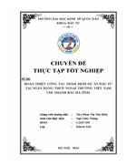 Hoàn thiện công tác thẩm định dự án đầu tư tại Ngân hàng TMCP Ngoại thương Việt Nam chi nhánh Bắc Hà Tĩnh